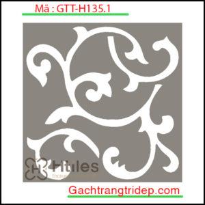 Gạch bông trang trí KT 20x20cm GTT-H135.1