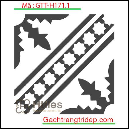 Gạch bông trang trí KT 20x20cm GTT-H171