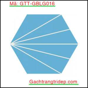 Gach-bong-luc-giac-trang-tri-mau-xanh-da-troi-tia-trang-GTT-GBLG016
