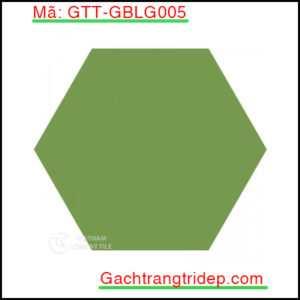 Gach-bong-luc-giac-trang-tri-mau-xanh-luc-GTT-GBLG005
