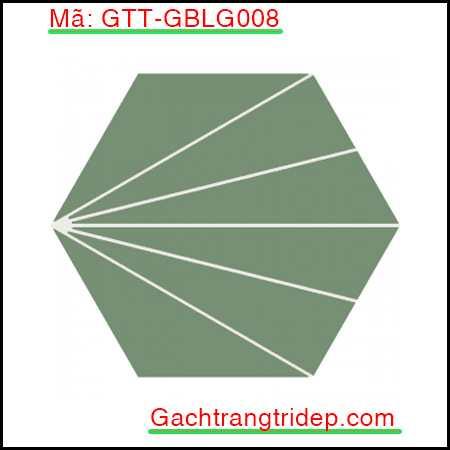 Gach-bong-luc-giac-trang-tri-mau-xanh-tia-trang-GTT-GBLG008