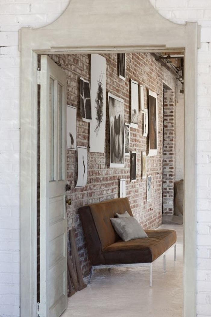 15 ý tưởng thiết kế nội thất tuyệt vời với gạch giả cổ 15
