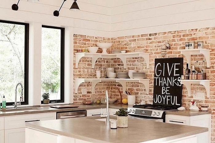15 ý tưởng thiết kế nội thất tuyệt vời với gạch giả cổ 3