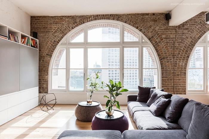 15 ý tưởng thiết kế nội thất tuyệt vời với gạch giả cổ 6