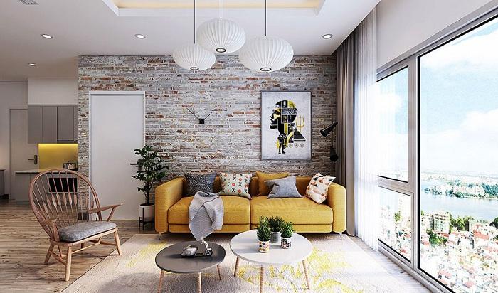 15 ý tưởng thiết kế nội thất tuyệt vời với gạch giả cổ 7