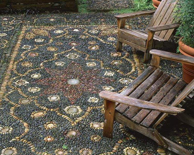 Nên sử dụng gạch mosaic trong nội thất hay ngoại thất 04